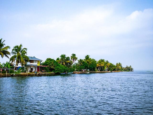 Allepy Backwater, Kerala