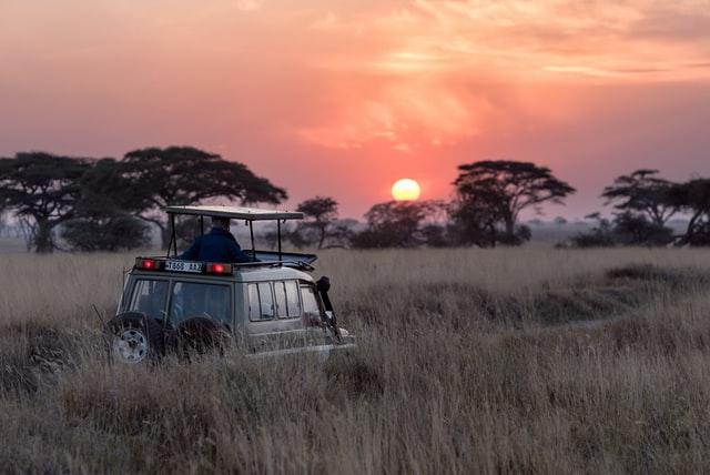 Runrise in Serengeti