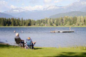 Alta Lake in Whistler, Canada