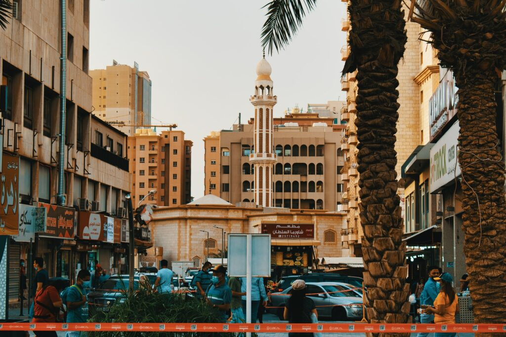 middle east city