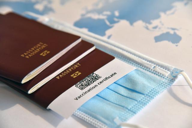 passport and tickets